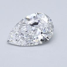 Recommended Stone #4: 1,50-Carat Pear Cut Diamond