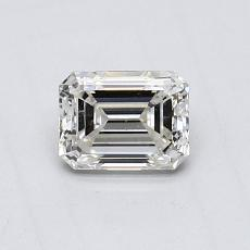 Recommended Stone #1: 0.54-Carat Emerald Cut Diamond