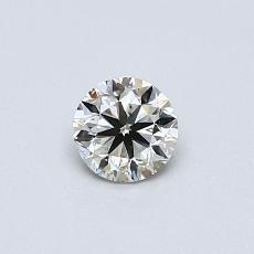 推荐宝石 3:0.38克拉圆形切割钻石