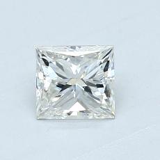 オススメの石No.2:0.60カラットのプリンセスカットダイヤモンド