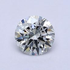 2.01-Carat Round Diamond Ideal E VS2