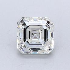 Pierre recommandée n°1: Diamant taille Asscher 1,00 carat