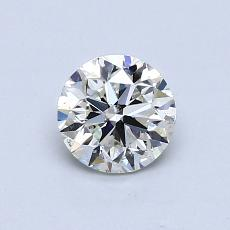Recommended Stone #1: 0,75-Carat Round Cut Diamond