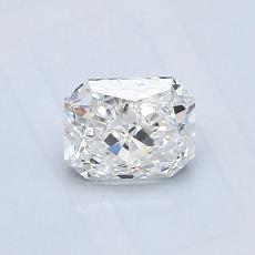 0.73-Carat Radiant Diamond Very Good G VS1