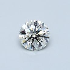 推薦鑽石 #4: 0.40  克拉圓形 Cut
