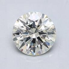 1,20-Carat Round Diamond Ideal K SI2