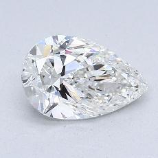 1,00-Carat Pear Diamond Very Good G VS1