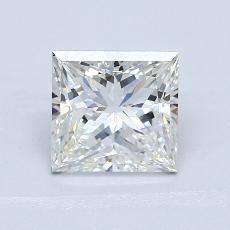 推薦鑽石 #2: 1.55  克拉公主方形鑽石