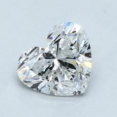 Recommended Stone #3: 1.05-Carat Heart Cut Diamond