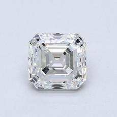 Pierre cible: Diamant taille Asscher 1,00 carat