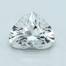 Recommended Stone #2: 1.03-Carat Heart Cut Diamond