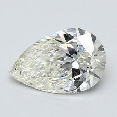 1.00 Carat 梨形 Diamond 非常好 K SI2