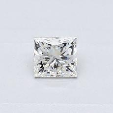 Recommended Stone #2: 0.31-Carat Princess Cut Diamond