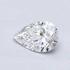 Recommended Stone #1: 1,00-Carat Pear Cut Diamond