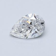 Recommended Stone #4: 0.60-Carat Pear Shaped