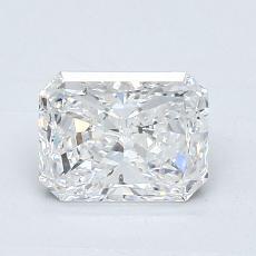 1,00 Carat Radiant Diamond Très bonne D SI1