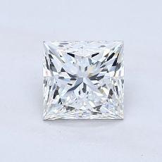 1.01 Carat 公主方形 Diamond Astor 理想 F VVS1