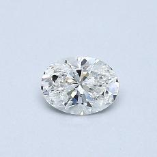 Recommended Stone #3: 0.30-Carat Oval Cut Diamond