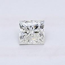 推荐宝石 4:0.45 克拉公主方形钻石