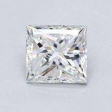 0,95 Carat Princesse Diamond Très bonne F SI1