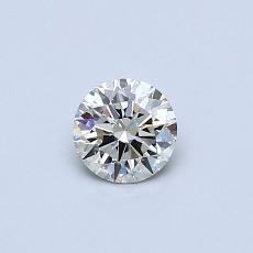 Target Stone: 0.34-Carat Round Cut Diamond