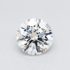 0.70-Carat Round Diamond Ideal H VS1