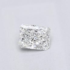 Recommended Stone #2: 0.32-Carat Radiant Cut Diamond