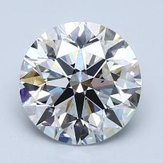 Recommended Stone #3: 2.20-Carat Round Cut Diamond