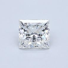 Recommended Stone #1: 0.71-Carat Princess Cut Diamond