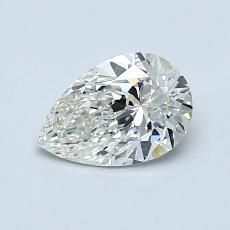 Recommended Stone #1: 0.76-Carat Pear Cut Diamond