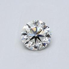推荐宝石 3:0.40克拉圆形切割钻石