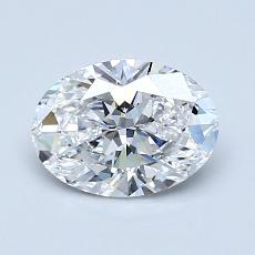 Recommended Stone #2: 1.05-Carat Oval Cut Diamond