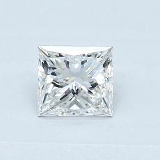 Recommended Stone #2: 0.53-Carat Princess Cut Diamond