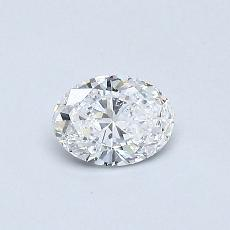 Recommended Stone #2: 0.31-Carat Oval Cut Diamond