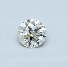 Target Stone: 0,40-Carat Round Cut Diamond