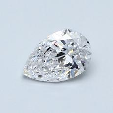推薦鑽石 #2: 0.60 克拉梨形鑽石