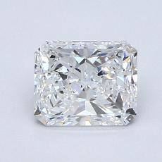 Recommended Stone #4: 1,21-Carat Radiant Cut Diamond