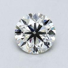 オススメの石No.4:0.90カラットのラウンドカットダイヤモンド