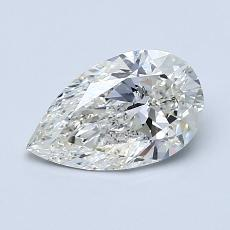 Recommended Stone #1: 0.96-Carat Pear Cut Diamond