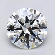 Recommended Stone #2: 2.90-Carat Round Cut Diamond