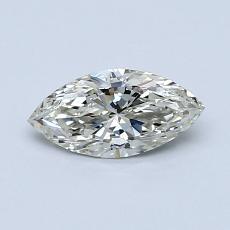 Pierre recommandée n°3: Diamant taille princesse 0,50 carat
