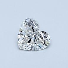 Recommended Stone #3: 0.43-Carat Heart Cut Diamond