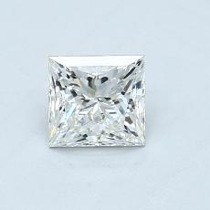 Recommended Stone #1: 0.55-Carat Princess Cut Diamond