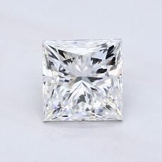 Recommended Stone #2: 1,07-Carat Princess Cut Diamond