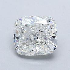 1.30-Carat Cushion Diamond Very Good G VS1