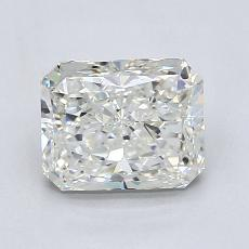 Recommended Stone #2: 1,71-Carat Radiant Cut Diamond