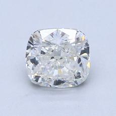 1.00-Carat Cushion Diamond Very Good I SI1