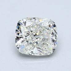 1.00-Carat Cushion Diamond Very Good J SI1