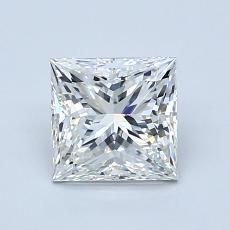 推荐宝石 4:1.20 克拉公主方形钻石