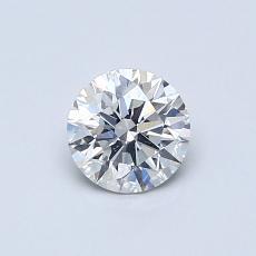 0.53-Carat Round Diamond Ideal I SI1